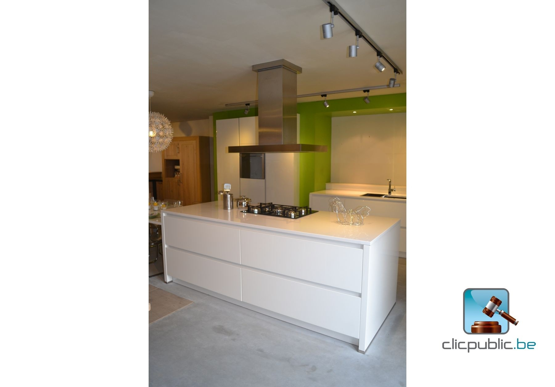 Keuken ref 5 te koop op - Model keuken wit gelakt ...