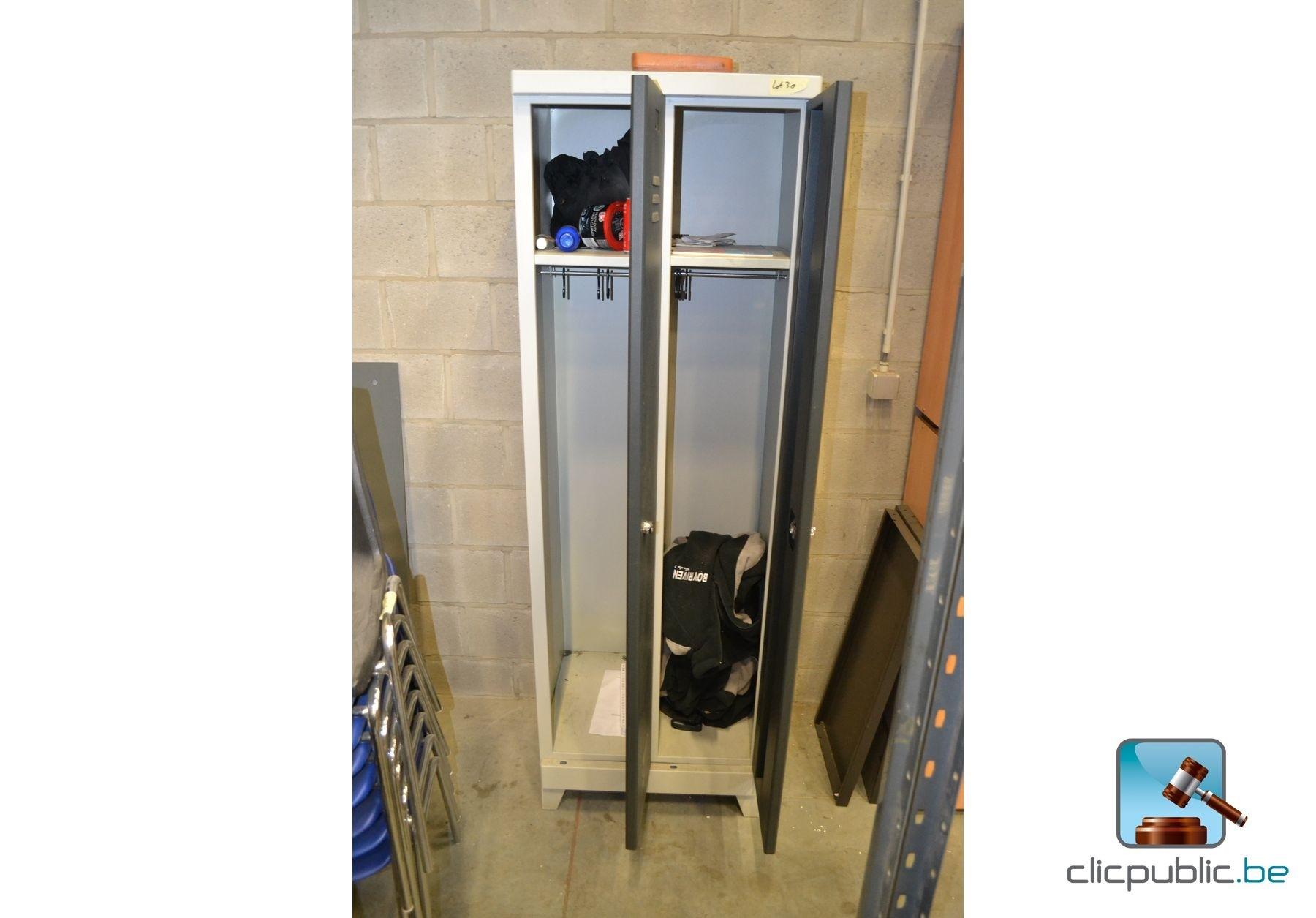 Metalen lockers (Ref. 30) te koop op clicpublic.be